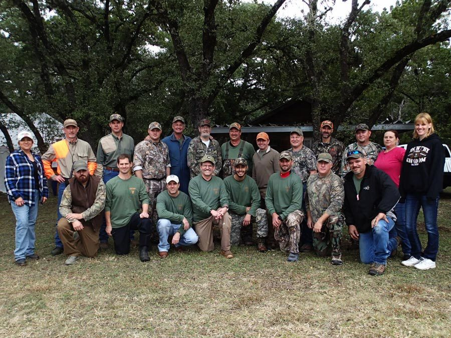 Wounded Warrior Hunts at Canyon Lake